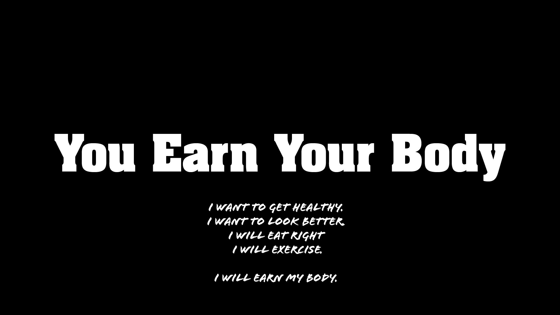 Bodybuilding & Fitness Motivation - You Earn Your Body ...