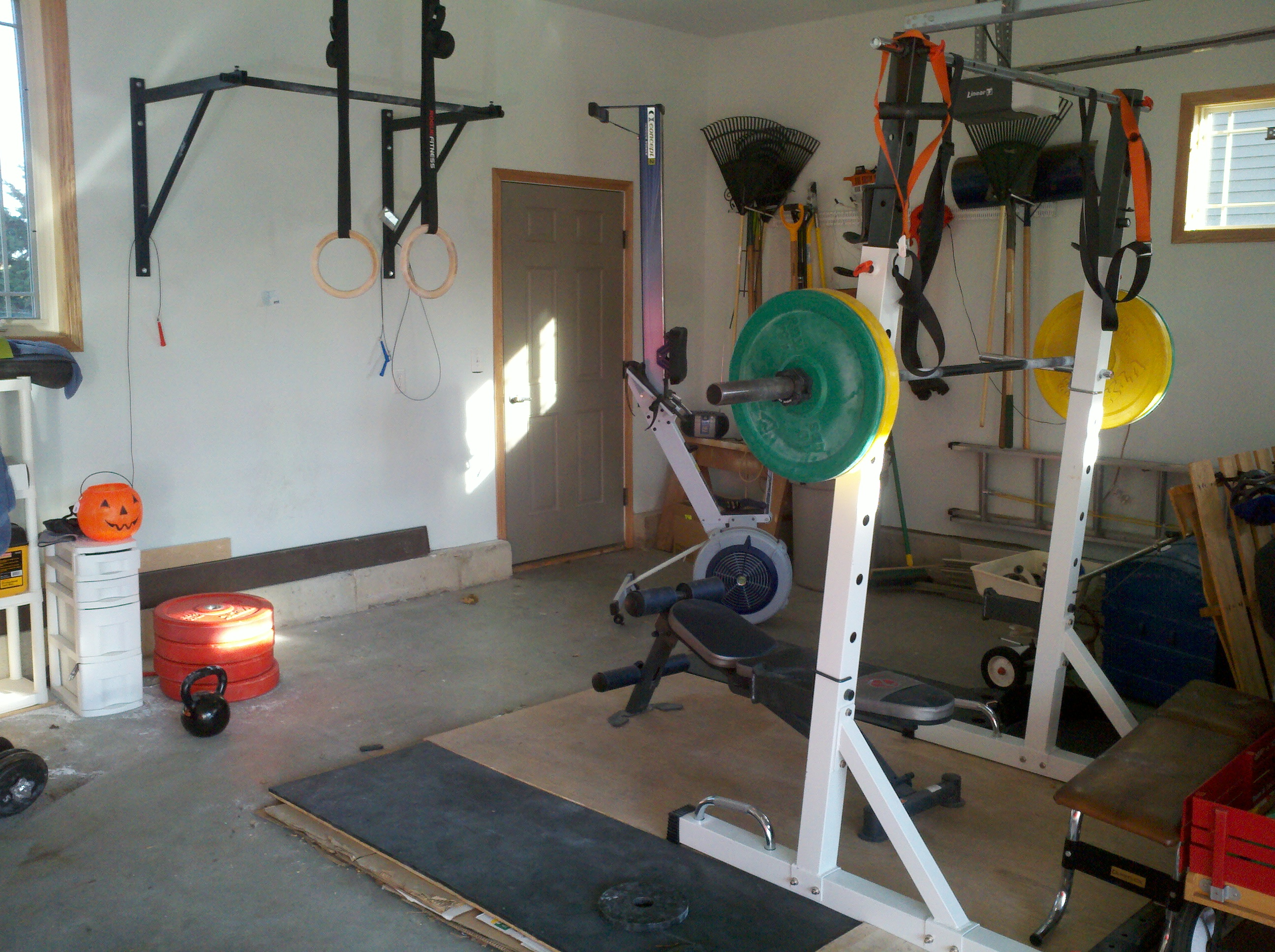 What equipment do you have for home gym rosstraining